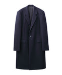 CHESTERFEILD COAT / NAVY