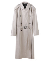 DETACHABLE PANEL COAT / BEIGE