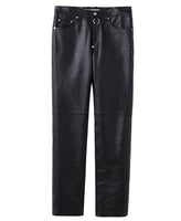 5POCKET PANTS  WITH BODY PIERCING JEWELRY / BLACK