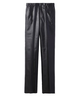 SIDE STRAP TROUSERS / BLACK