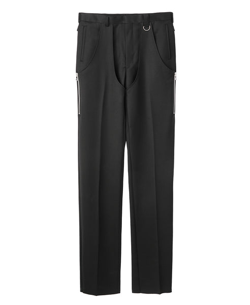 CHAPS TROUSERS / BLACK