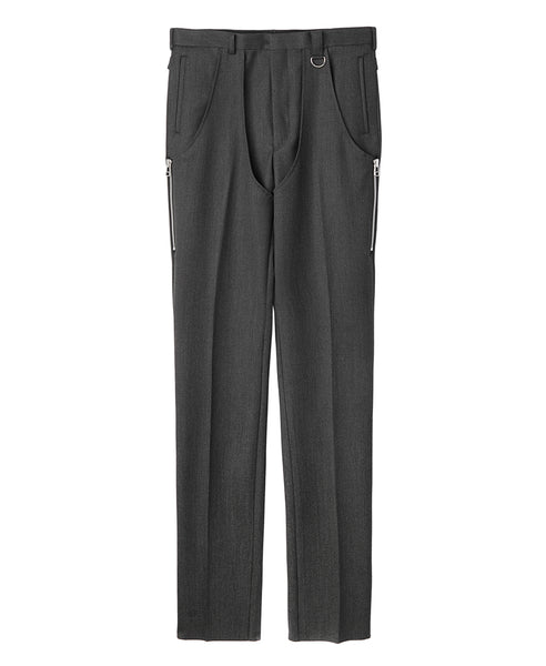 CHAPS TROUSERS / GREY