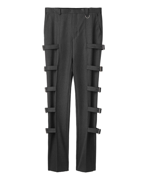 BONDAGE TROUSERS / GREY