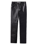5POCKET LEATHER PANTS / LIZARD
