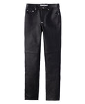 5POCKET LEATHER PANTS / OSTRICH