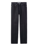 WOMENS WASHED DENIM CENTER LINE PANTS