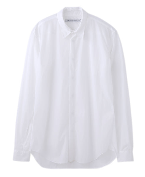 REGULAR COLLAR SHIRT / WHITE