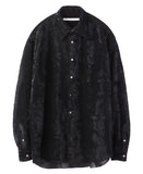 REGULAR COLLAR SHIRT / BLACK
