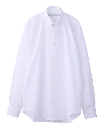 BROADCLOTH TAB COLLAR SHIRT