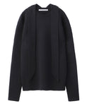 CN SWEATER WITH SCARF / BLACK