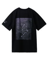 PHOTO BACK PRINTED T-SHIRT / BLACK