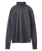 TURTLE NECK TOP / GREY