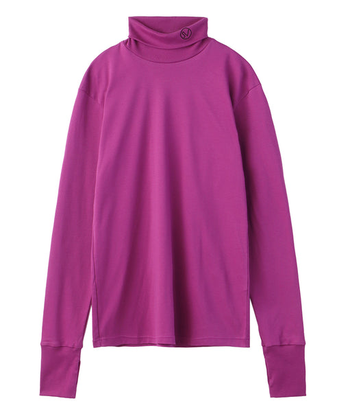 TURTLE NECK TOP / PINK