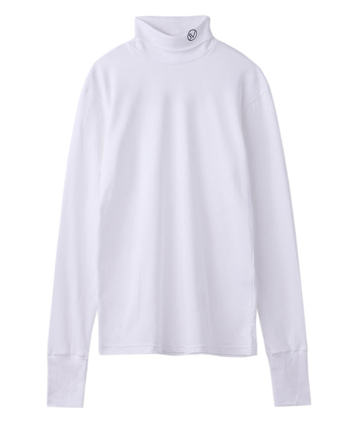 TURTLE NECK TOP / WHITE