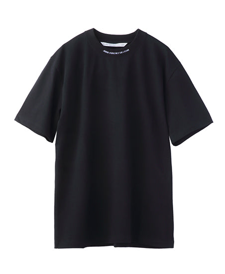 JACQUARD LOGO T-SHIRT / BLACK*WHITE