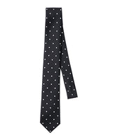 DOT PRINTED SILK NECK TIE