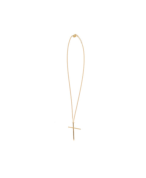 NAIL NECKLACE / GOLD