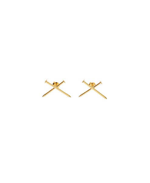 NAIL PIERCE(PAIR) / GOLD