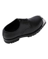 METAL TOE POSTMAN SHOES / BLACK