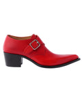POINTED TOE SHOES / RED