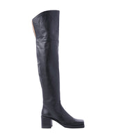 WOMENS SQUARE TOE LONG BOOTS