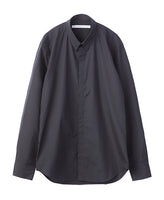 BROADCLOTH BUTTON DOWN SHIRT / BLACK