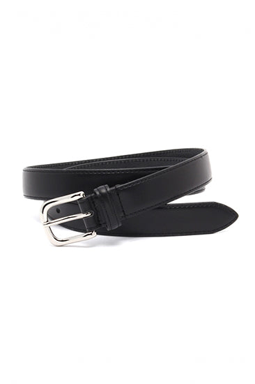 LEATHER PIN BUCKLE BELT