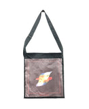 """INVISIBLE"" PRINTED TOTE BAG"