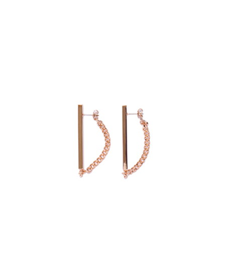 PIERCE (PAIR) / PINKGOLD