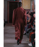 SIDE BELTED TROUSERS / RED