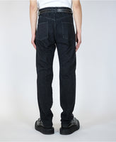 WASHED DENIM SELVEDGE JEANS