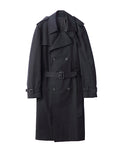 TRENCH COAT / BLACK