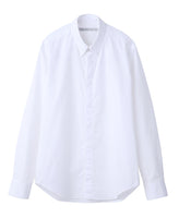 BROADCLOTH BUTTON DOWN SHIRT / WHITE