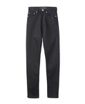 WOMENS HIGH-WAISTED DENIM PANTS