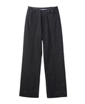 WOMENS WIDE DENIM PANTS / BLACK