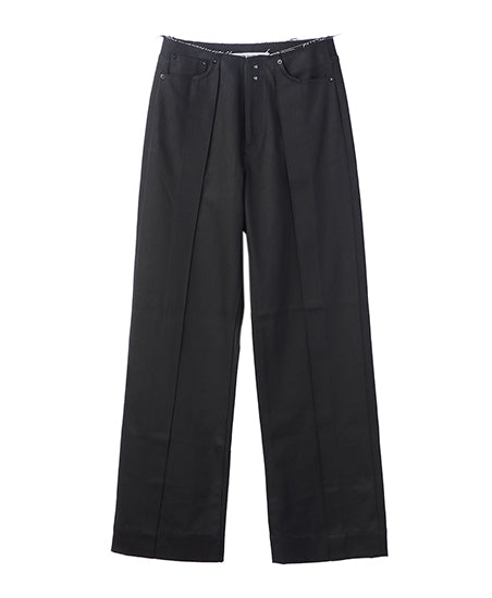WOMENS WIDE DENIM PANTS