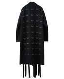 D-RING COAT / BLACK