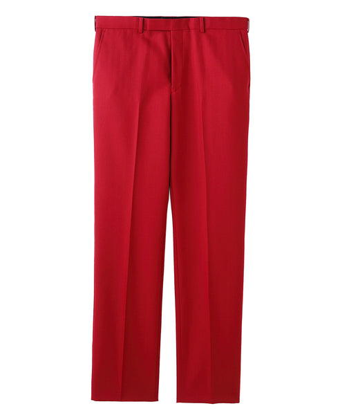 STRIGHT TROUSERS / RED