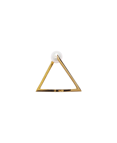 TRAIANGLE RING / GOLD