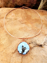 Load image into Gallery viewer, Hand Hammered Copper Choker
