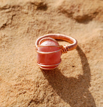 Load image into Gallery viewer, Rhodochrosite Ring