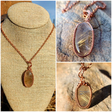 Load image into Gallery viewer, Golden Rutile Healing Set