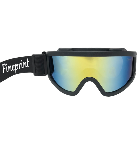 Fineprint Logo Goggles