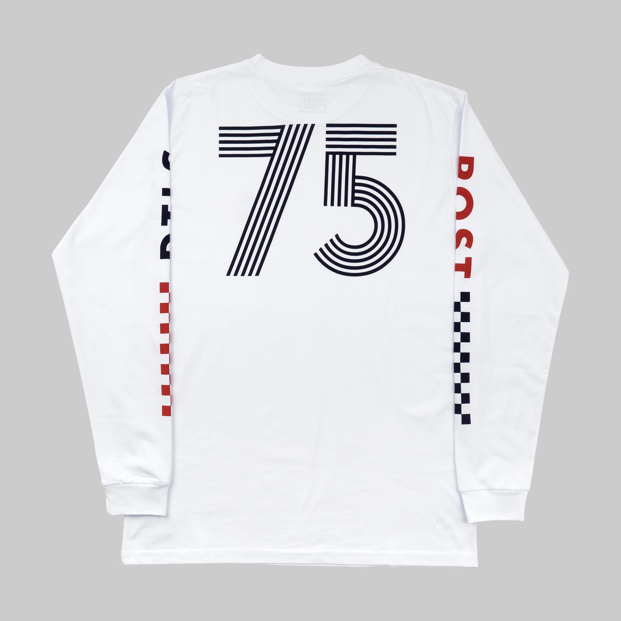 Long sleeve t-shirt - Post REdecades - Racing 75 - White