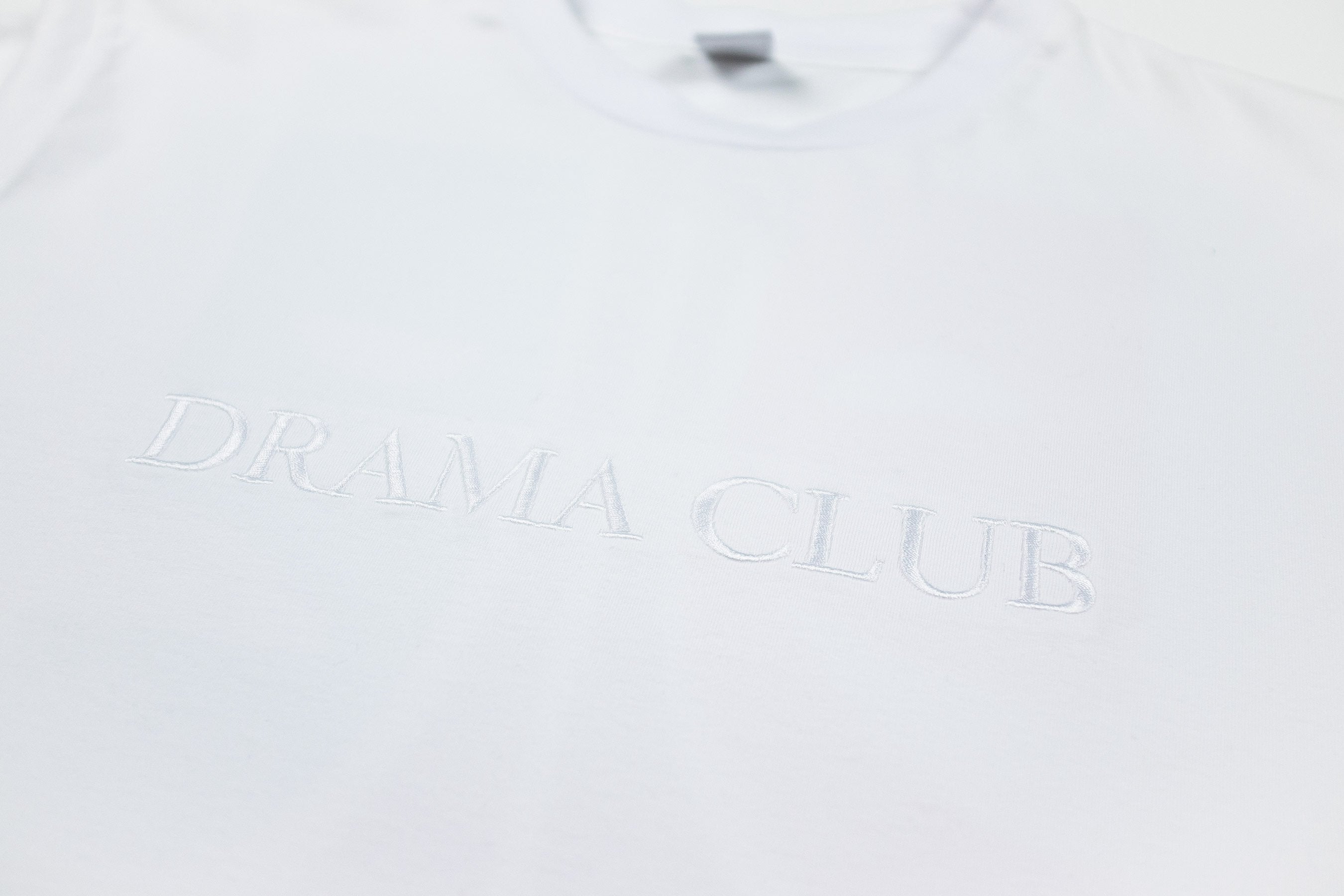 Post Drama Club Long sleeve White