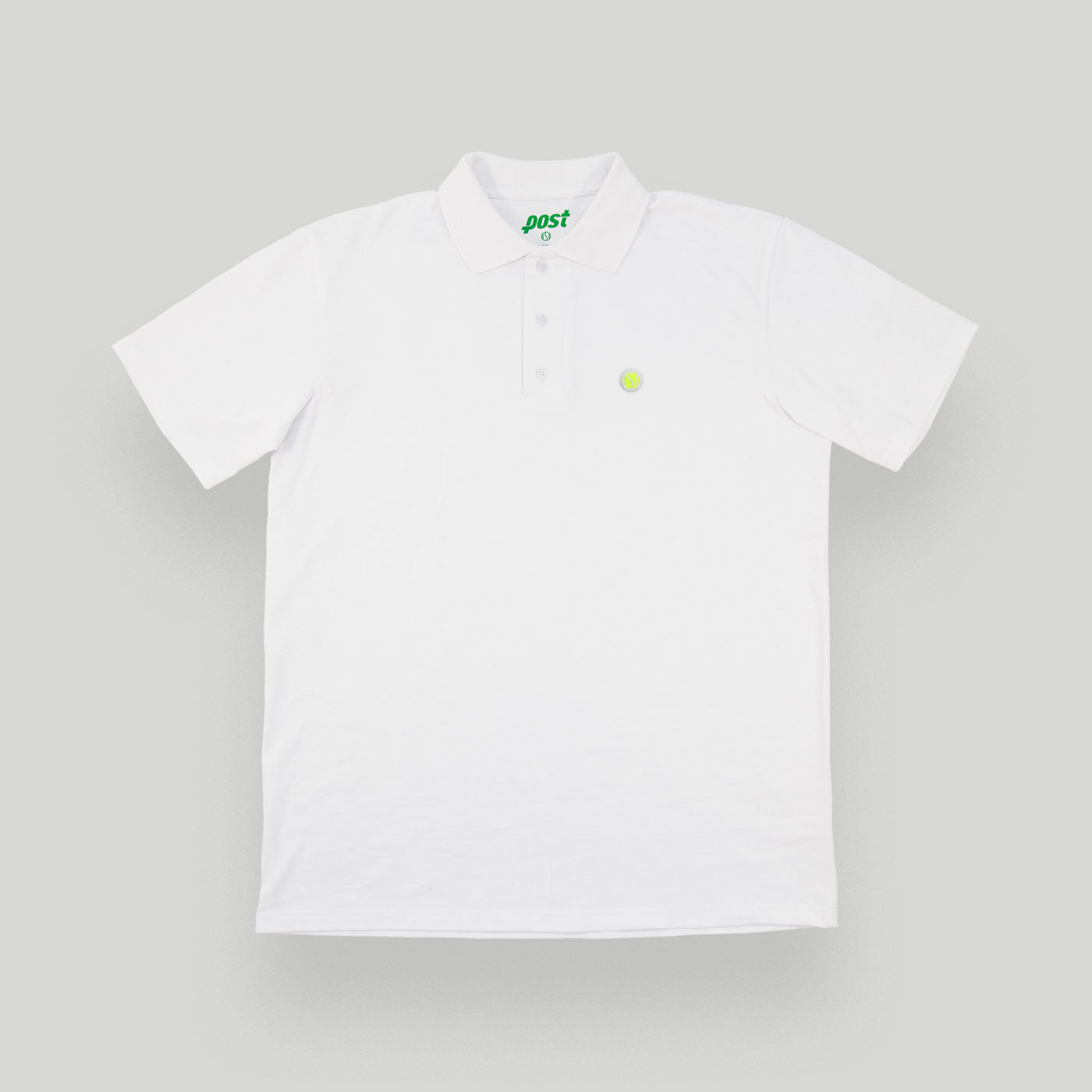 White Tennis Anyone Polo Shirt