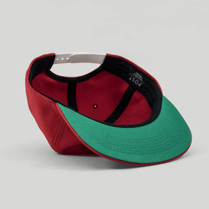 Post Standard antifit snapback cap - Fire Red