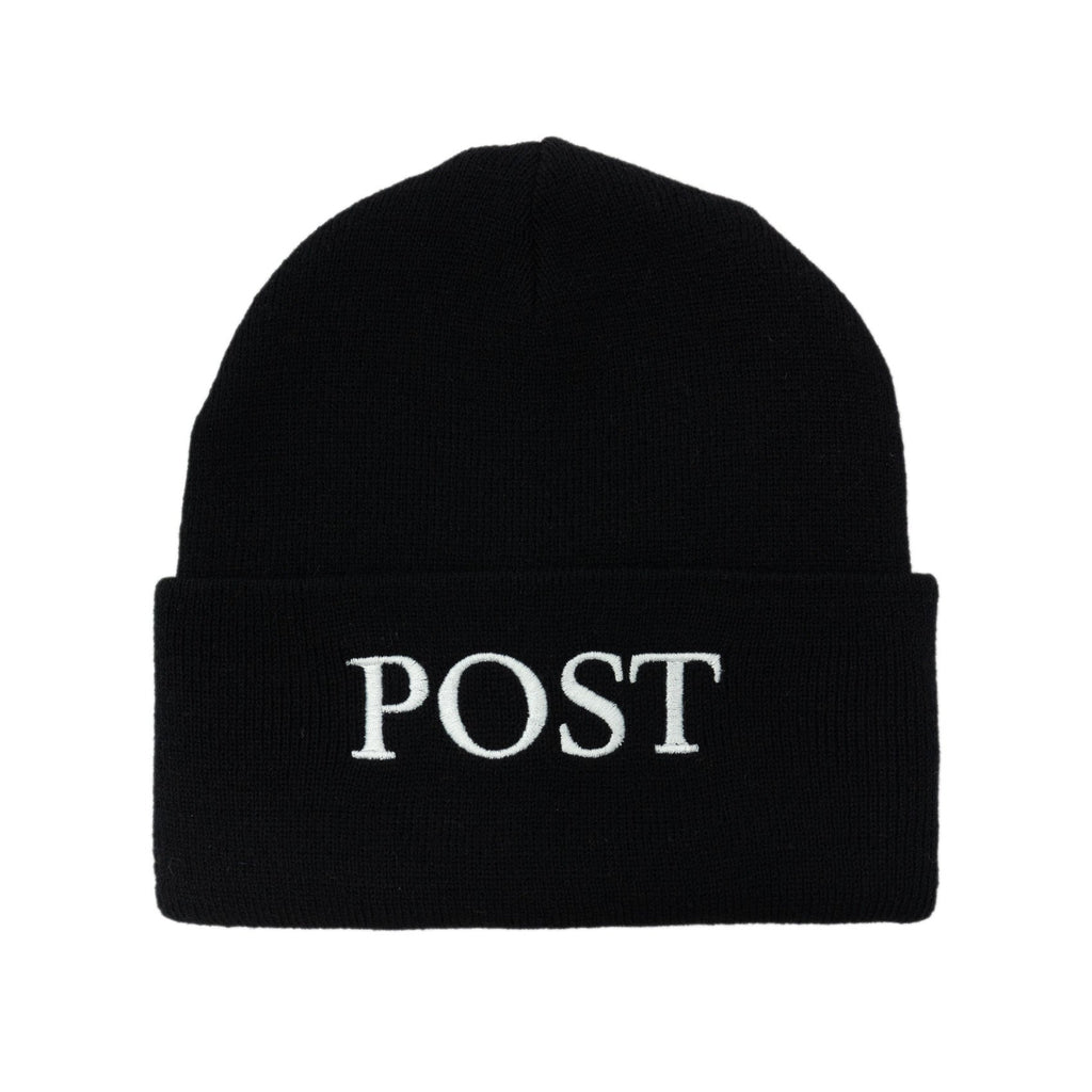 Post Labor Beanie Black