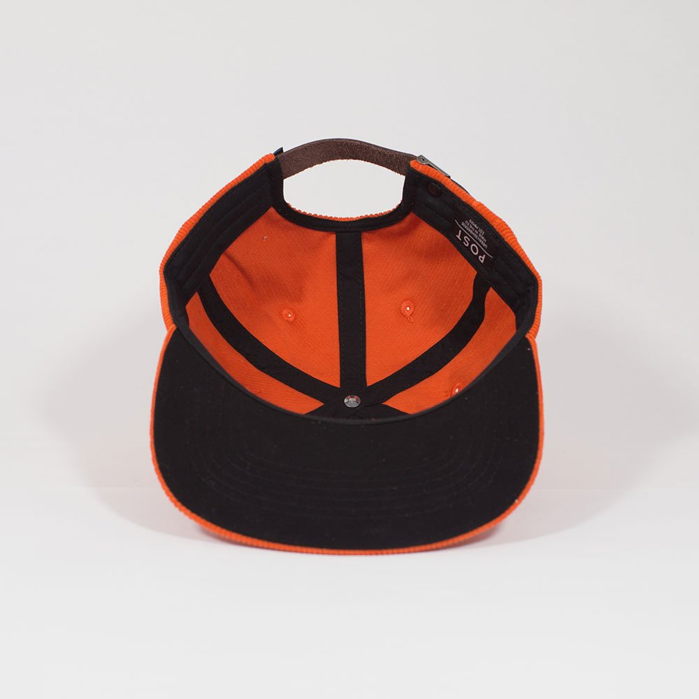 The Orange Antifit Corduroy Six Panel Cap