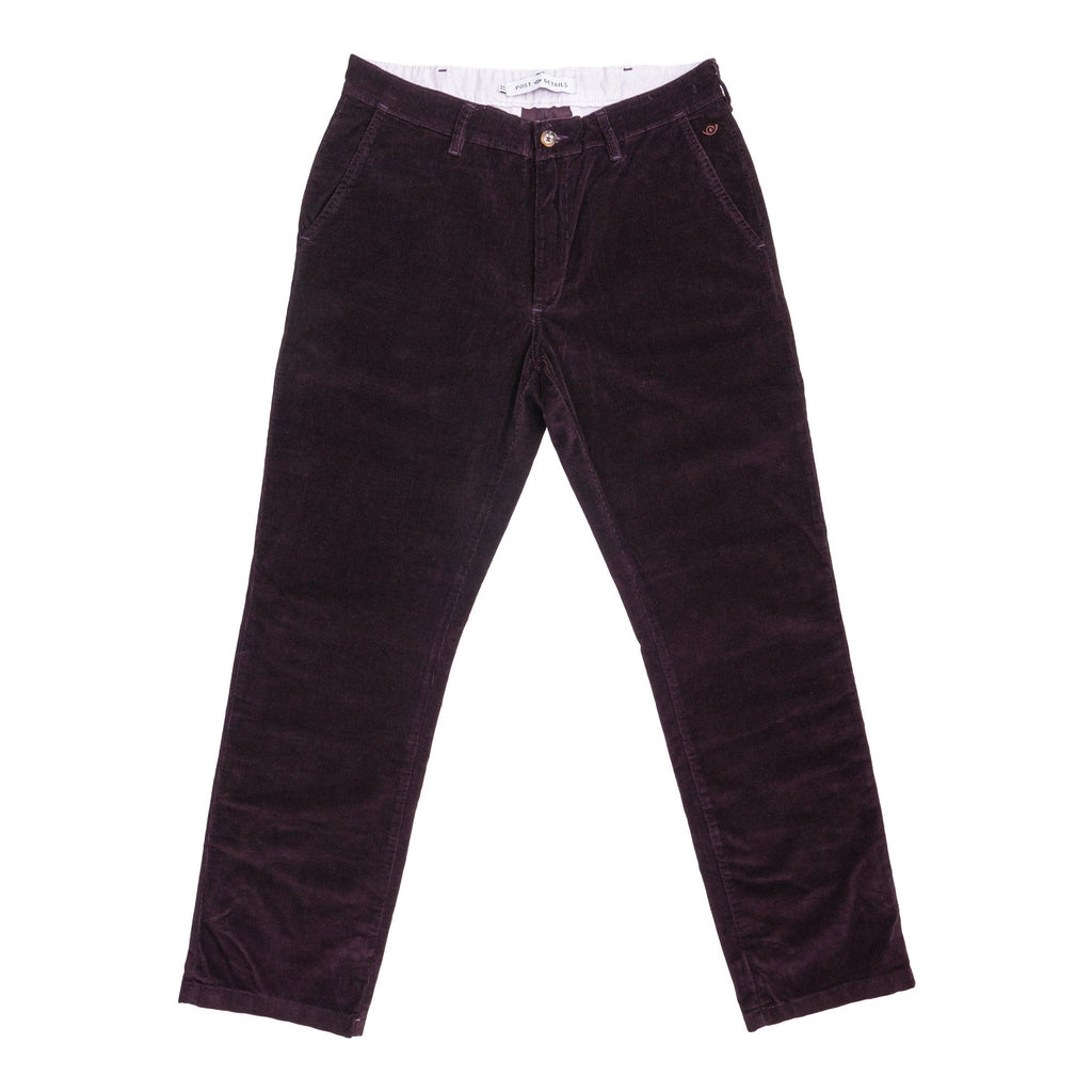 Post Corduroy Labor Pant Burgundy